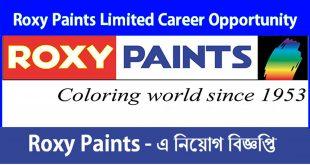 Job Circular for Roxy Paints